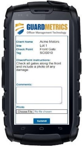 Guard Company Patrol Software