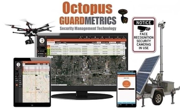 GuardMetrics-Octopus Scalable Security Guard App to PSIM