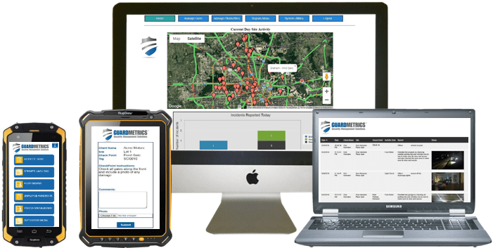 Security Guard Tracking System With Guard Tracking