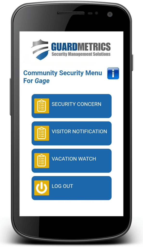 Neighborhood Watch App